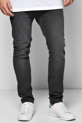 Skinny Stretch Charcoal Jeans