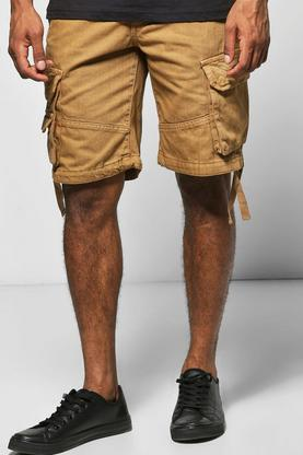 Cargo Shorts With Drawcord