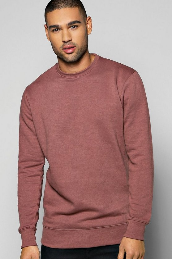 Lightweight Basic Crew Neck Sweater