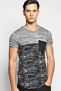 Space Panel Pocket T Shirt