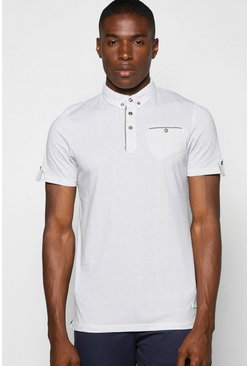 All Over Printed Spot Print Polo