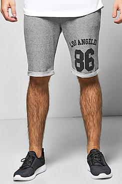 LA Stripe Lounge Shorts