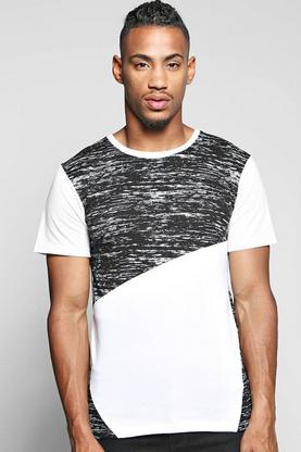 Space Spliced T Shirt