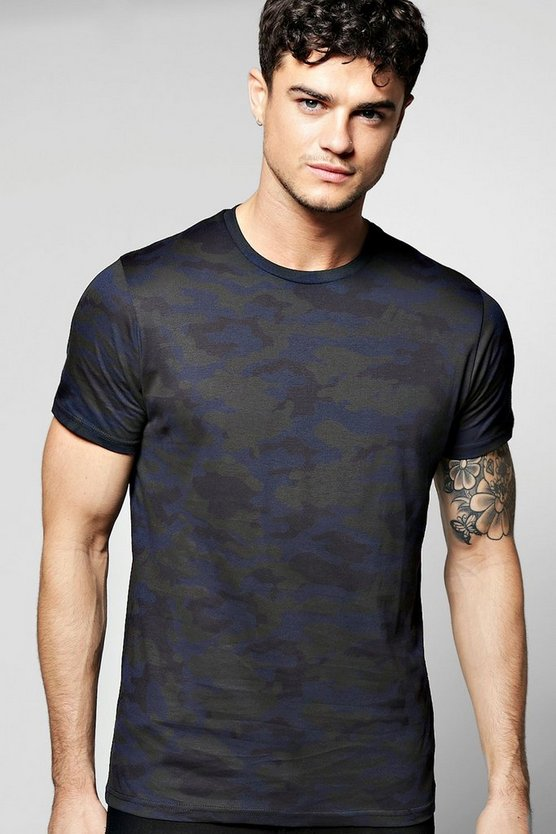 All Over Camo T Shirt