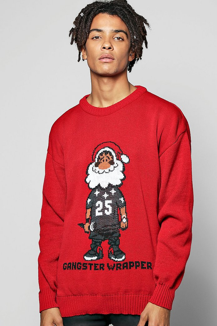 'Gangsta' Xmas Jumper