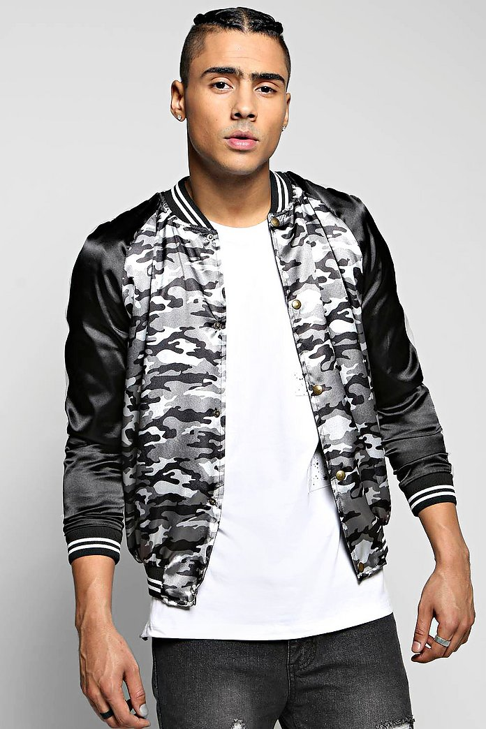 Lightweight Bomber With Raglan Sleeve