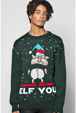 'Elf You' Xmas Jumper