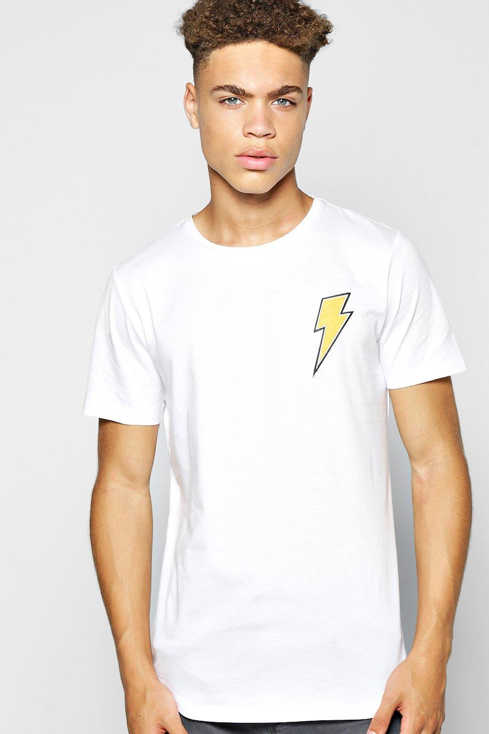 Lightning Bolt Badge T Shirt