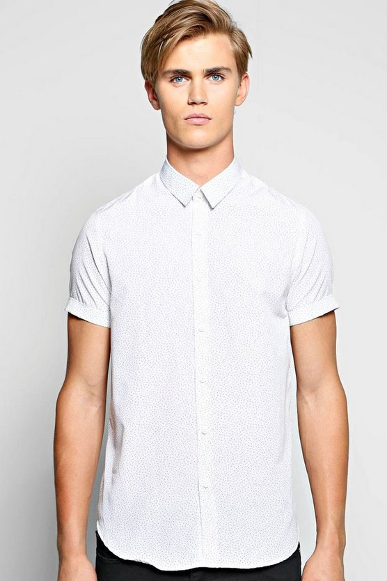 Short Sleeve Pattern Shirt