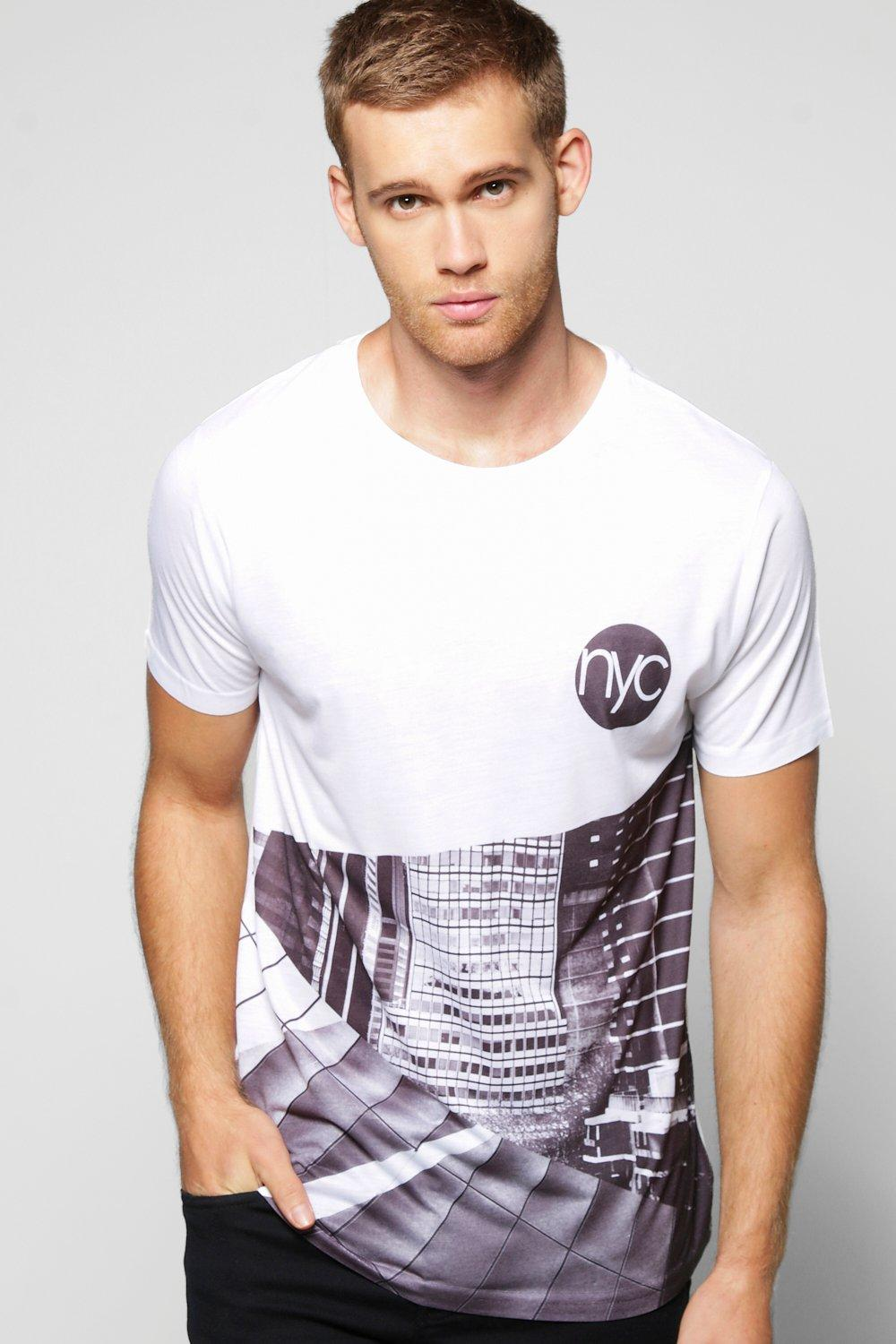 Mono Spliced City Sublimation T-Shirt