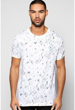 Stay True Textured Sublimation T Shirt