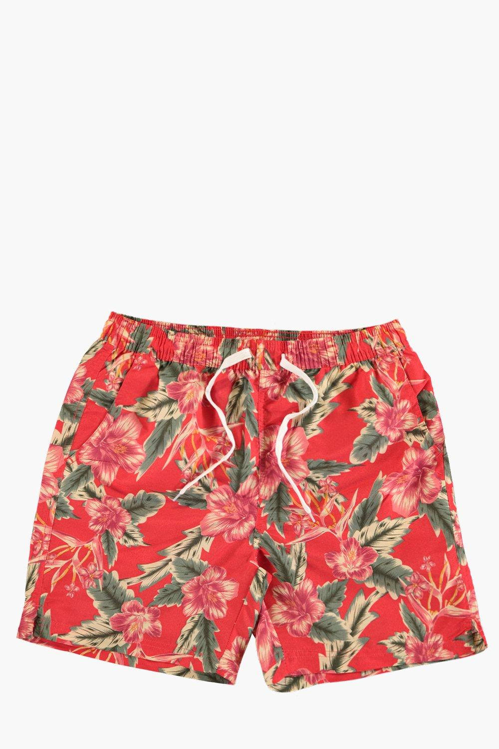 All Over Floral Print Swim Shorts