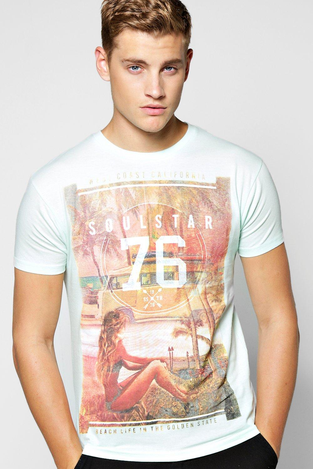 Photographic Print T Shirt