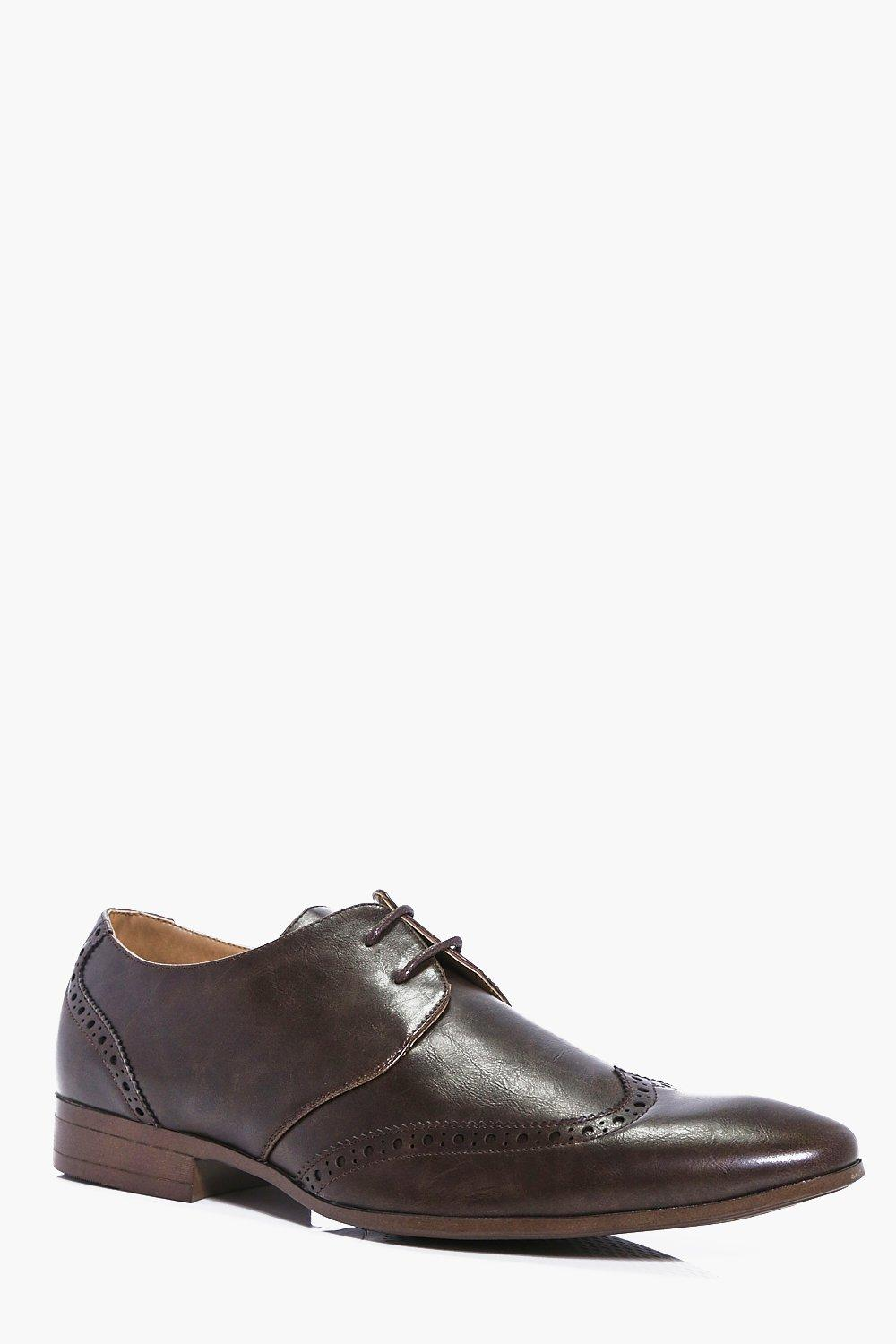 Brogue Toe Formal Shoe