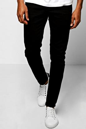 Skinny Fit Black Denim Jeans