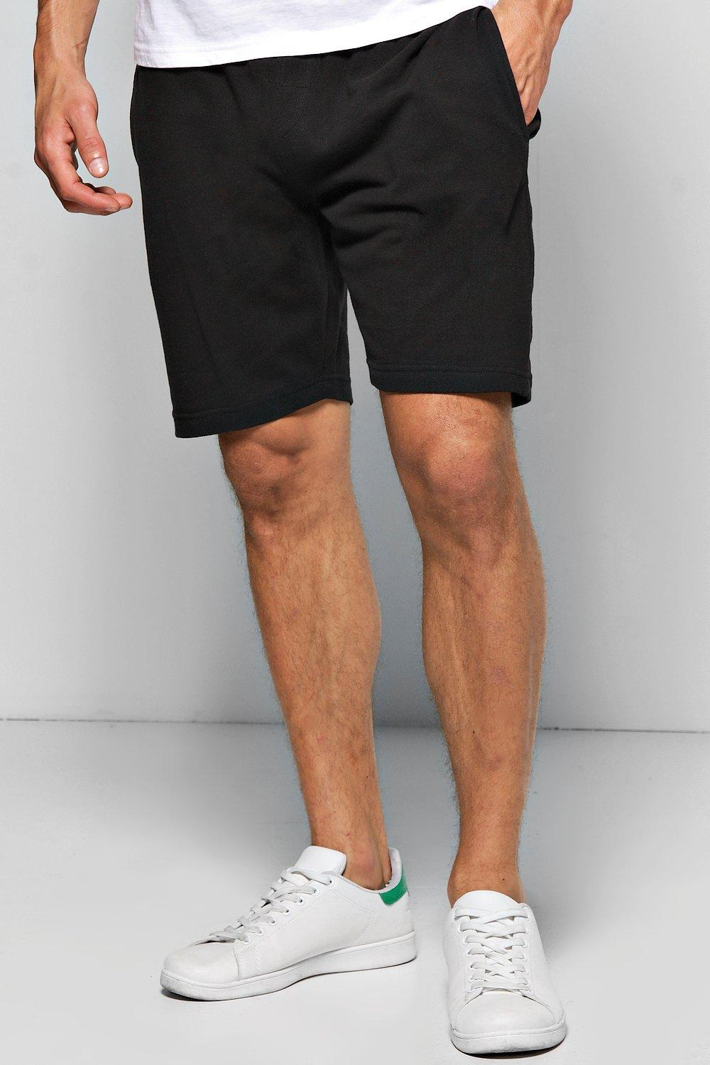 Cotton Pique Shorts