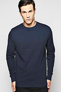 Cotton Pique Sweater