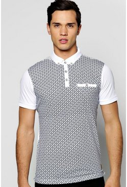 All Over Printed Polo