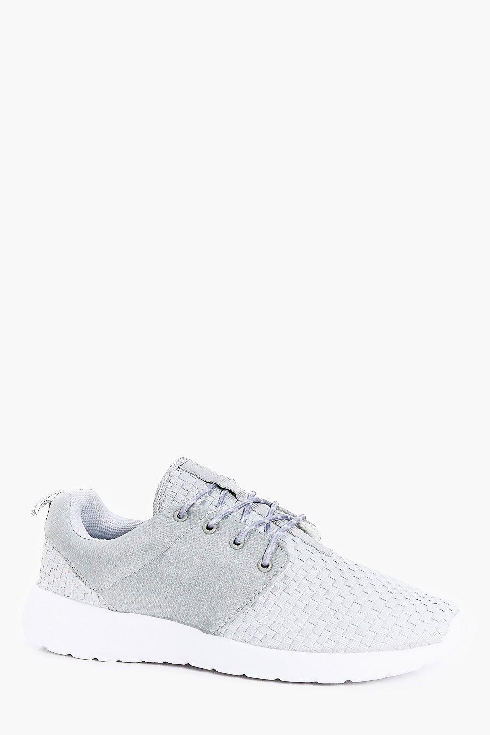 Contrast Panel Running Trainers