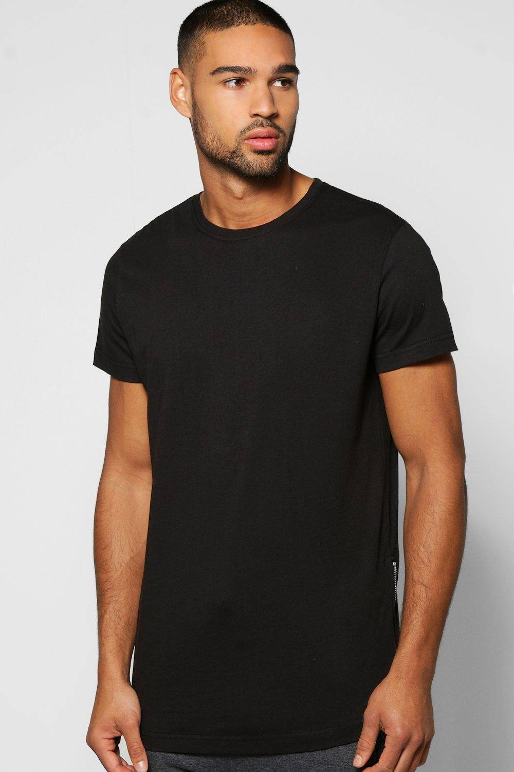 Skater Length Curved Hem T Shirt