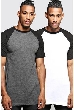 2 Pack Raglan T Shirt