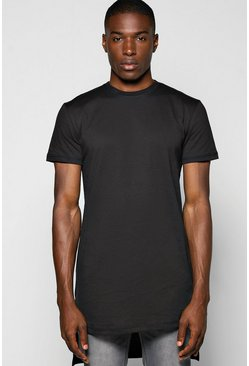 Super Longline Step Hem T Shirt