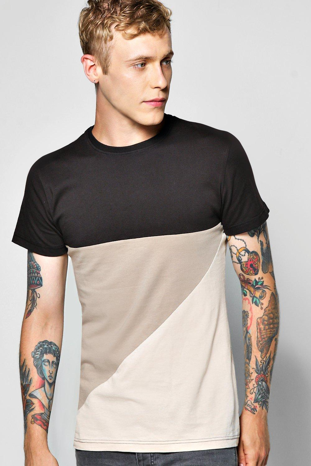 Spliced T Shirt