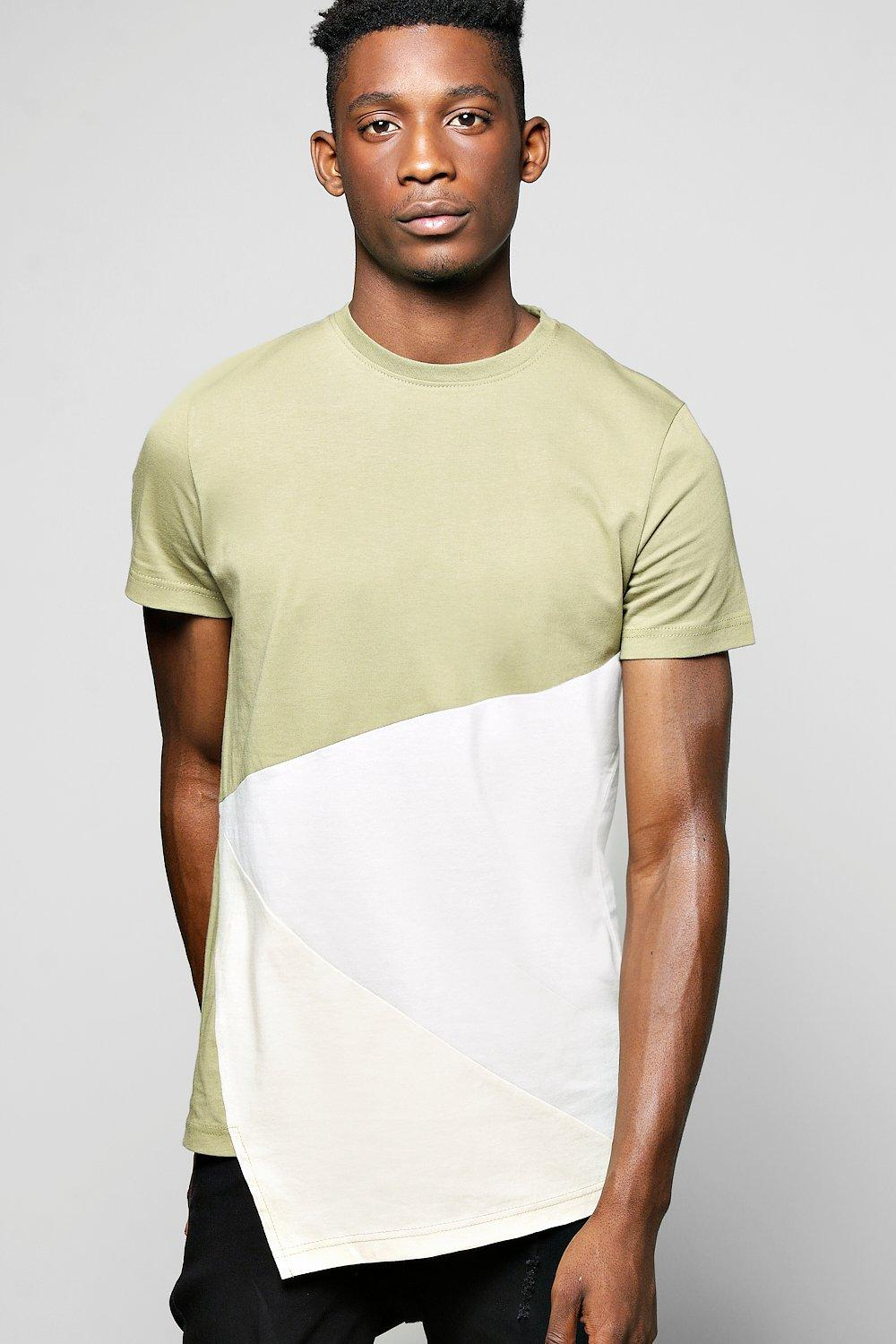 Extended Front Panel T Shirt