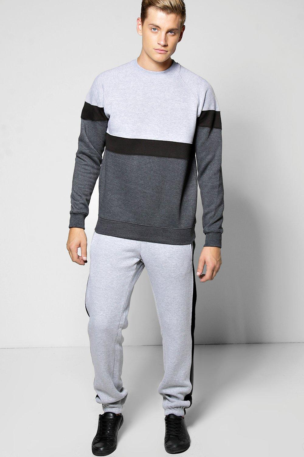 Sweater Panelled Tracksuit