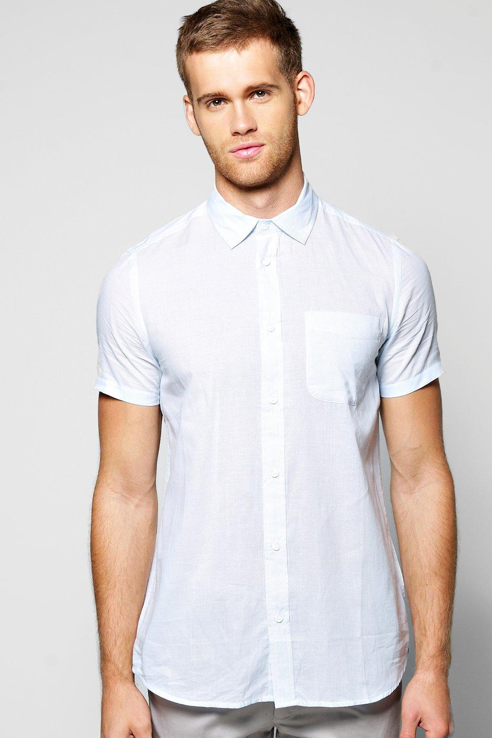 Short Sleeve Pocket Shirt