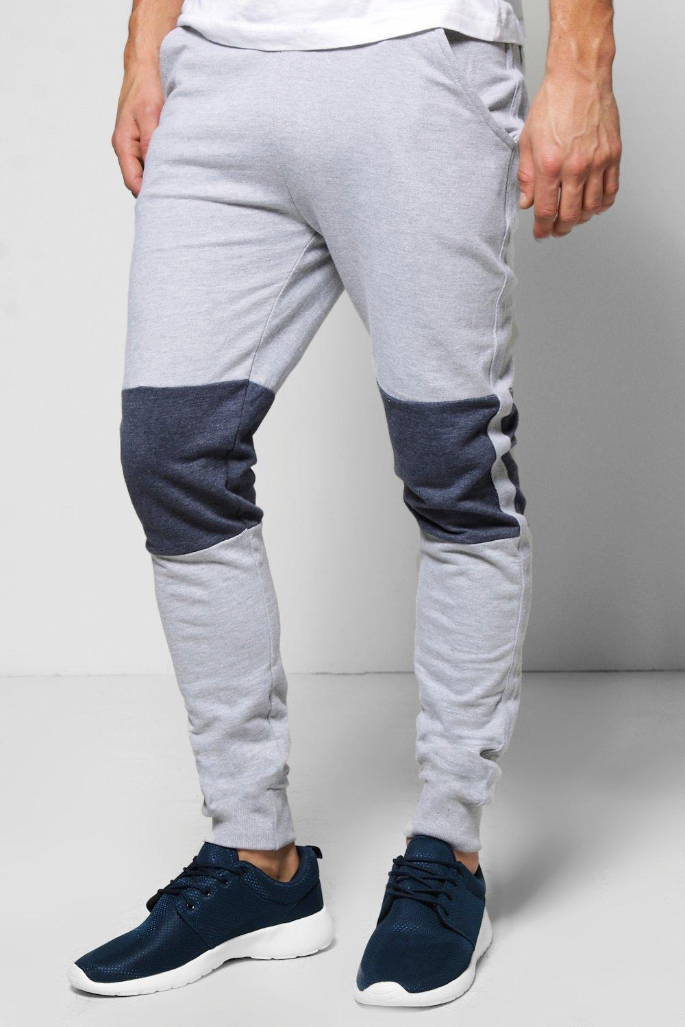 Skinny Fit Two Tone Marl Joggers
