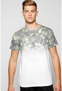 Faded Leaf Camo Sublimation T Shirt
