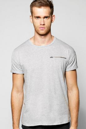 Standard Zip Pocket Tee
