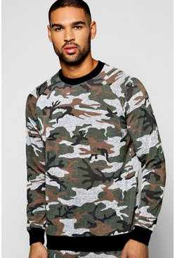 Camo Space Sweatshirt