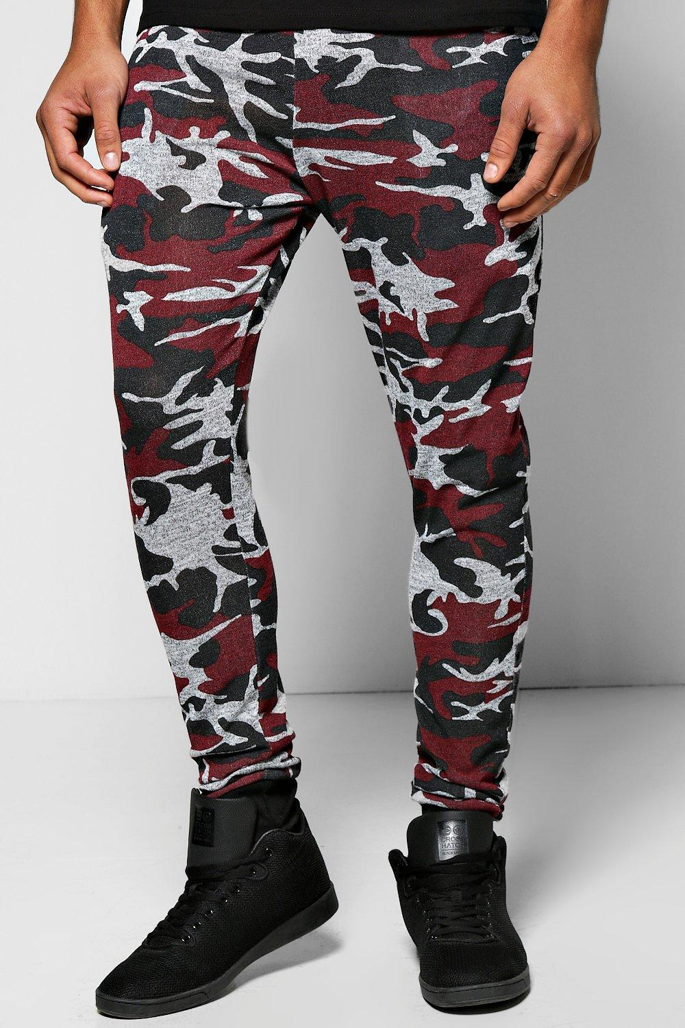 Camo Space Skinny Joggers