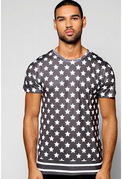 Stars And Stripes Sublimation T Shirt
