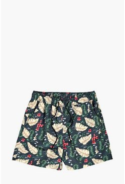 Floral Printed Swim Short