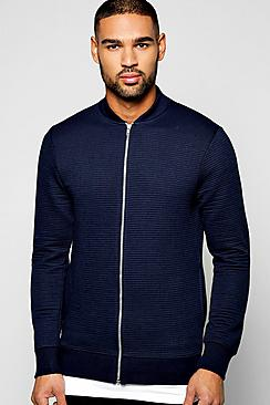 Ribbed Jersey Bomber