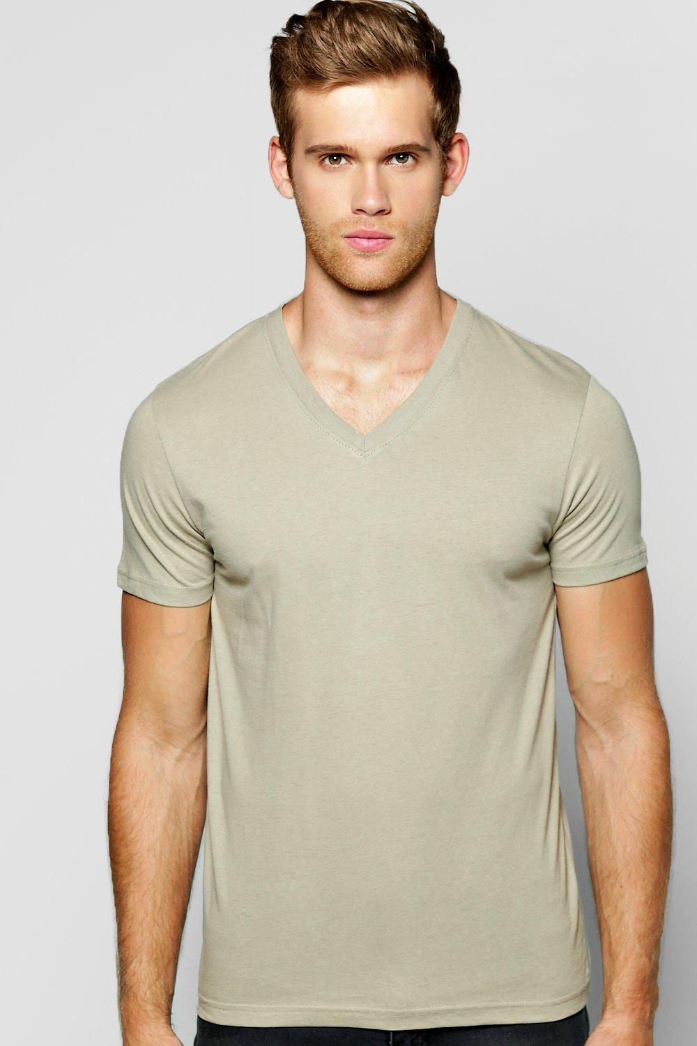 Basic V Neck T Shirt