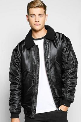 MA1 Padded Bomber With Borg Collar