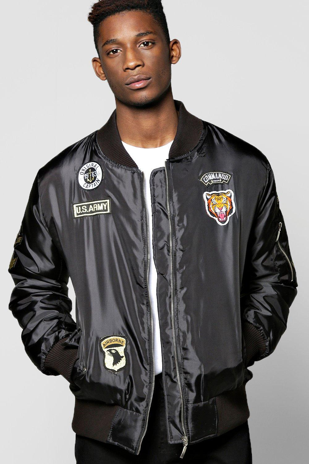 MA1 Bomber Jacket With Badges