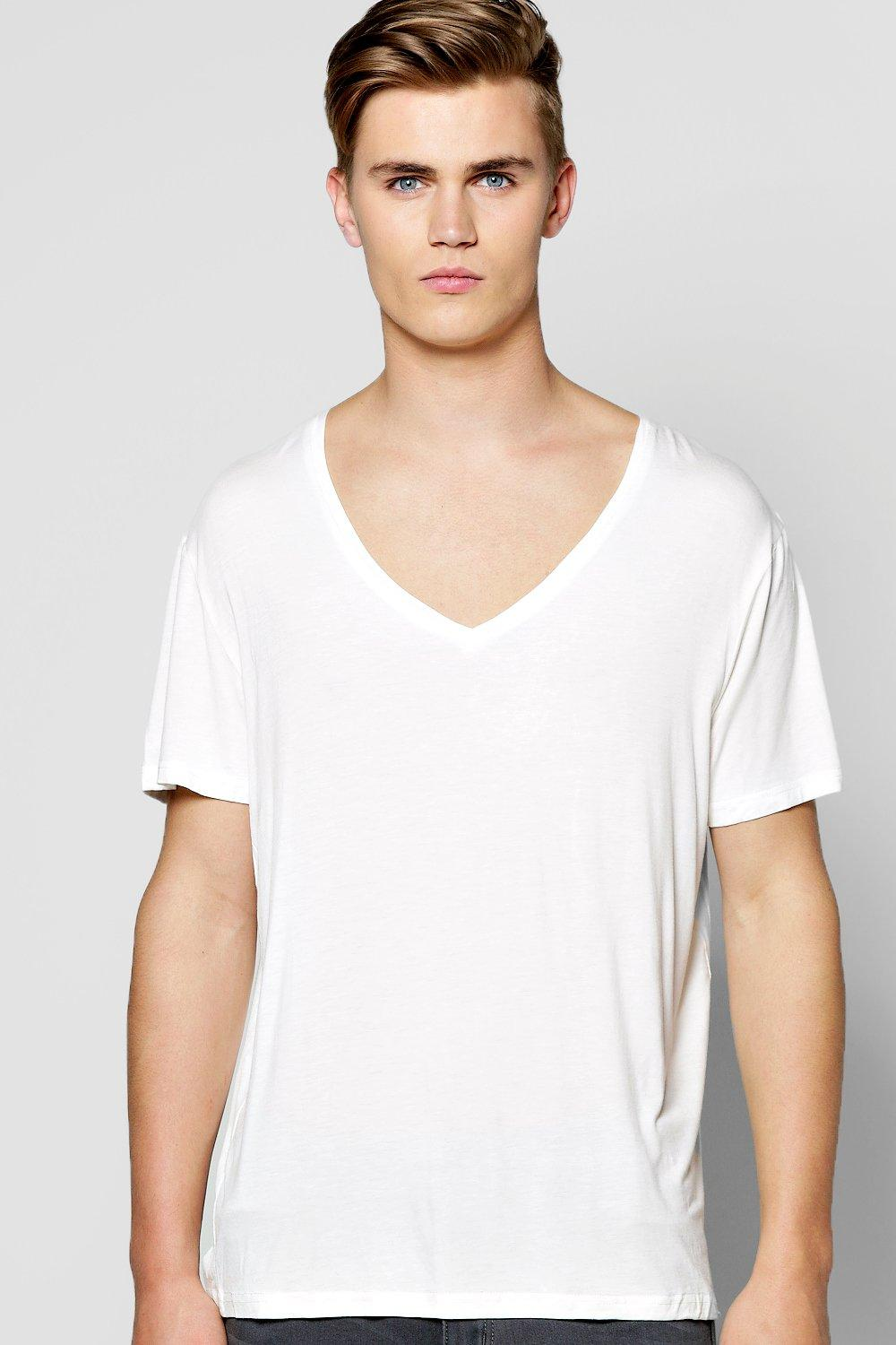 Loose Fit Drape T-Shirt