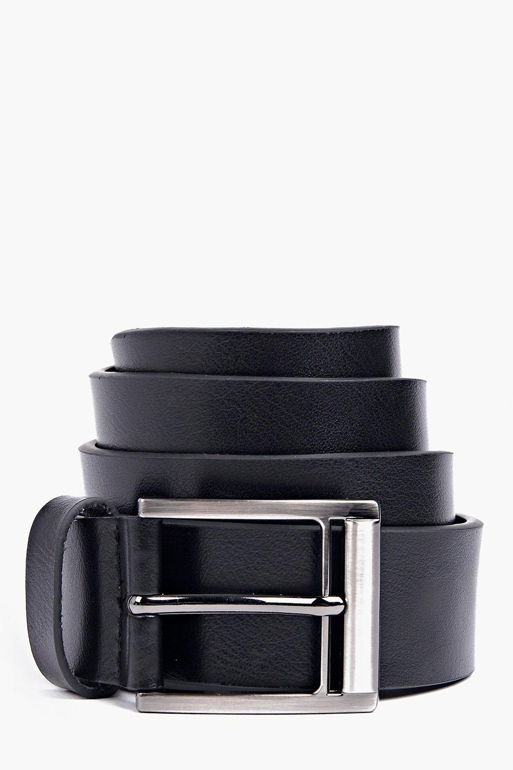 Faux Leather Belt - black - Bring your accessories