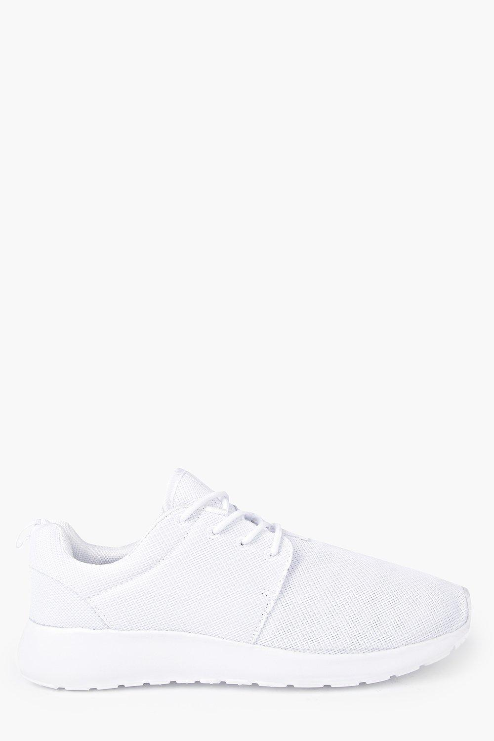 Lace Up Mesh Trainers