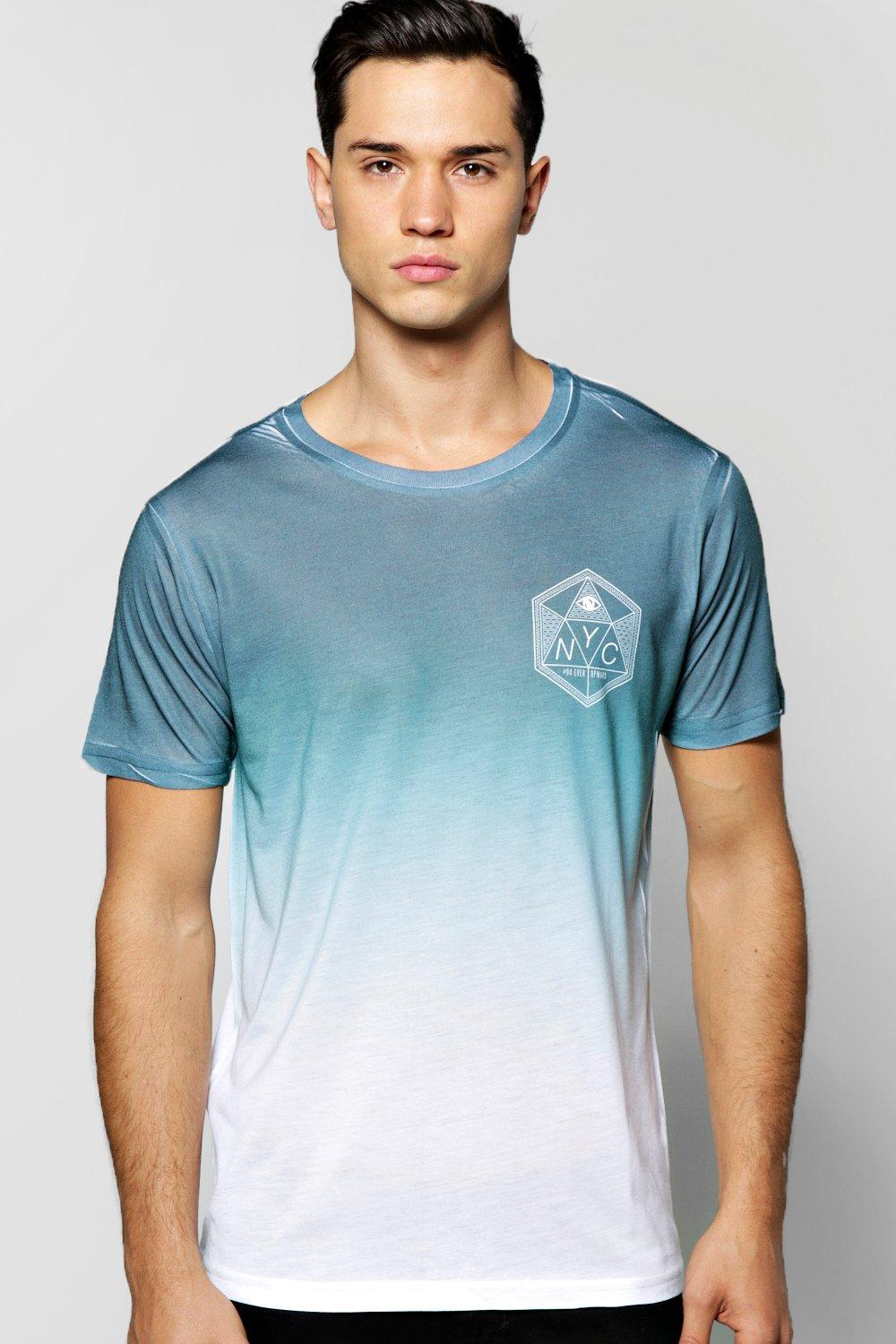 Faded NYC Sublimation T Shirt