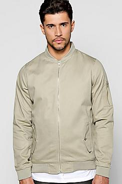 Cotton MA1 Bomber