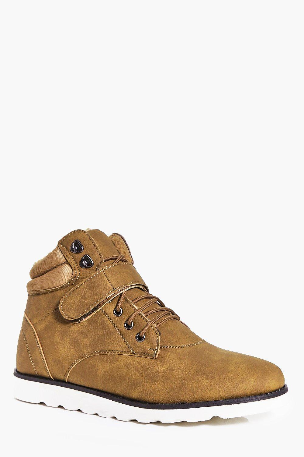 Lace Up Worker Boots