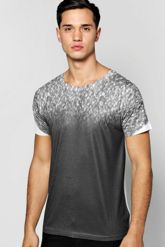 Faded Ombre Sublimation T Shirt