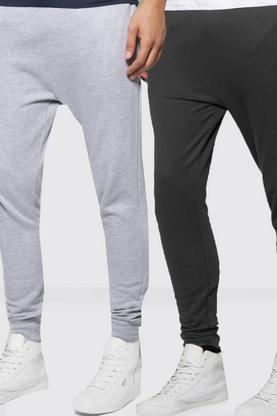 2 Pack Drop Crotch Joggers