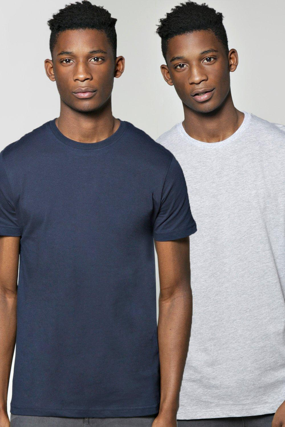2 Pack Crew Neck T Shirt